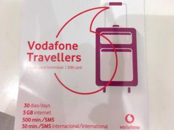 ポルト空港でSIMカードを購入