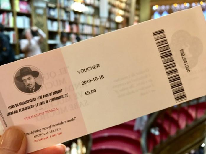 レロ書店の入場チケット