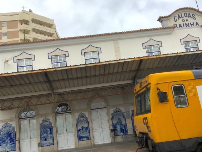 カルダス・ダ・ライーニャ駅