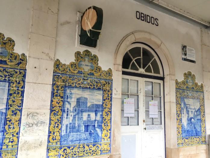 オビドス駅