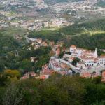 ムーアの城跡からの眺め