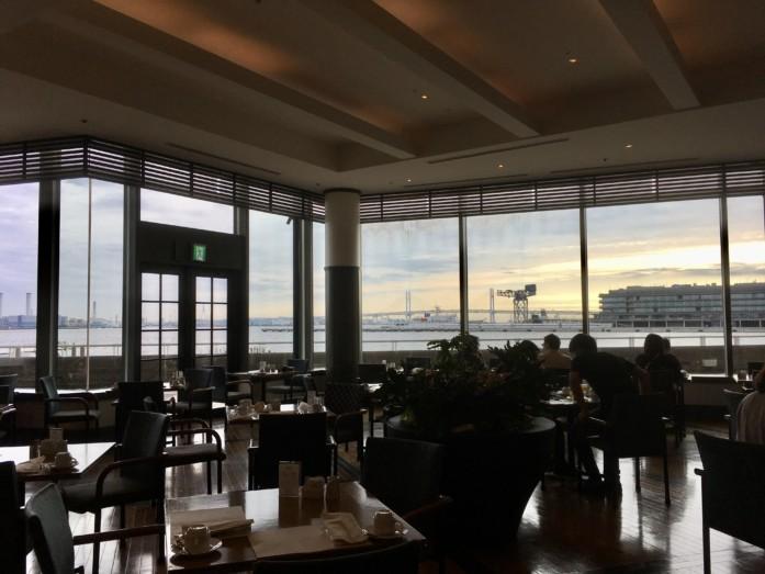 ヨコハマグランドインターコンチネンタルホテルのレストラン