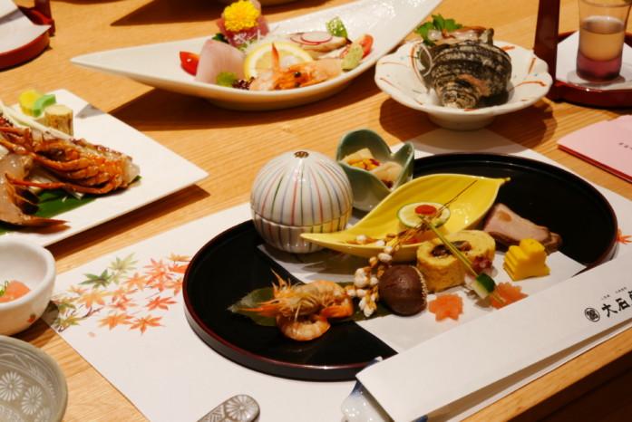 大石屋の夕食