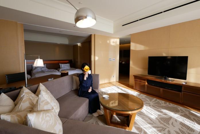 志摩観光ホテル「ザ・ベイスイート」の客室