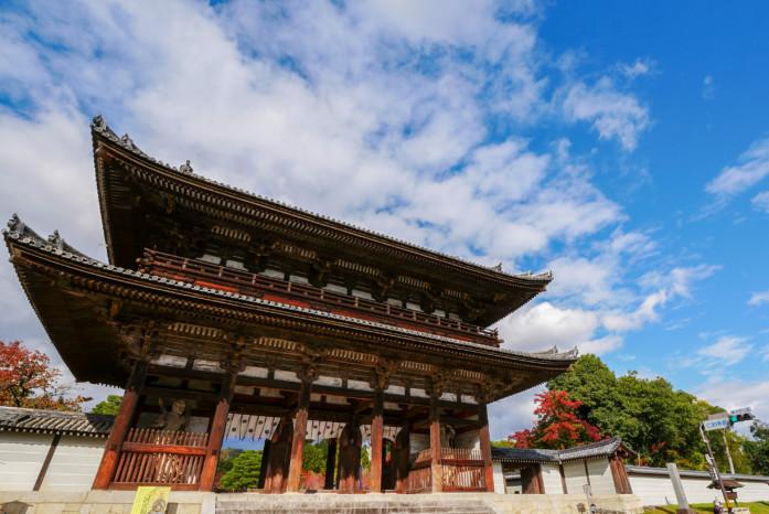 世界遺産「仁和寺」の仁王門