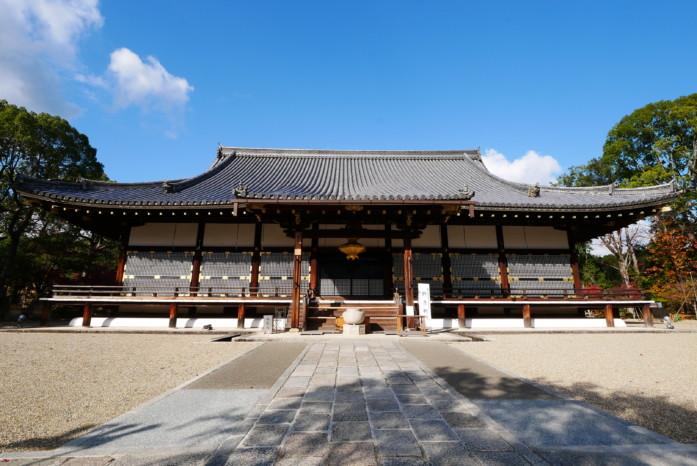 世界遺産「仁和寺」の金堂