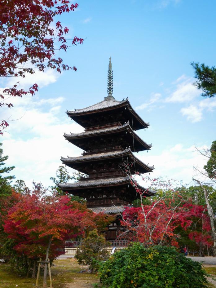 世界遺産「仁和寺」の五重塔