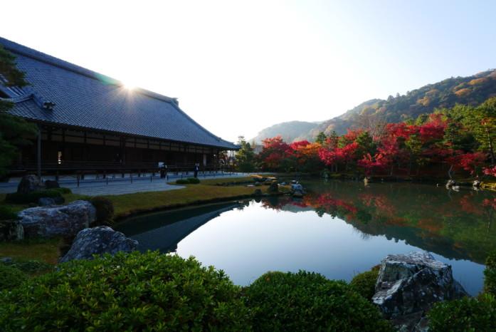 世界遺産「天龍寺」の曹源池