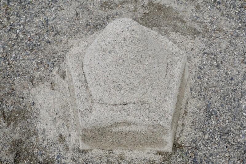 惣社神社の立砂