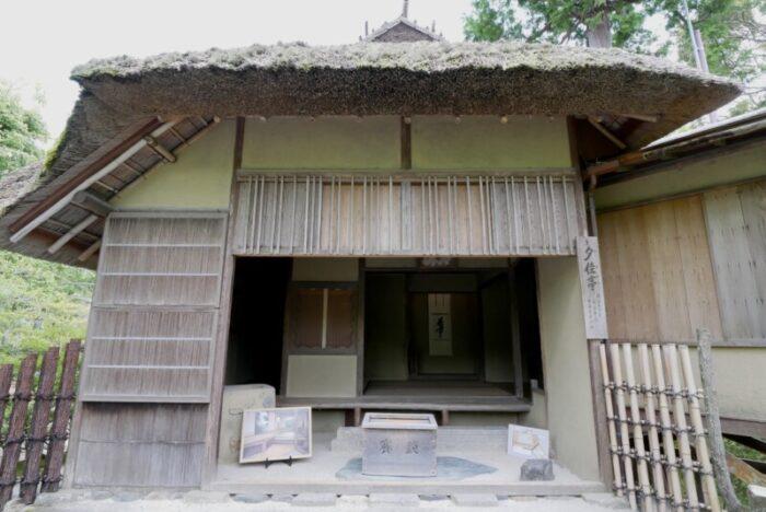 金閣寺の夕佳亭