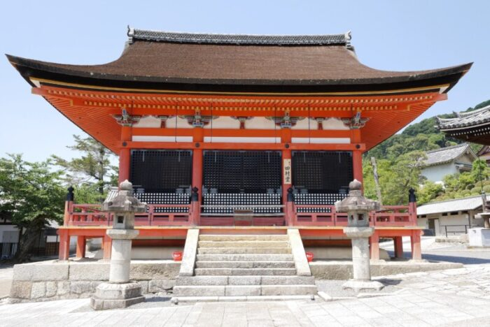 清水寺の田村堂
