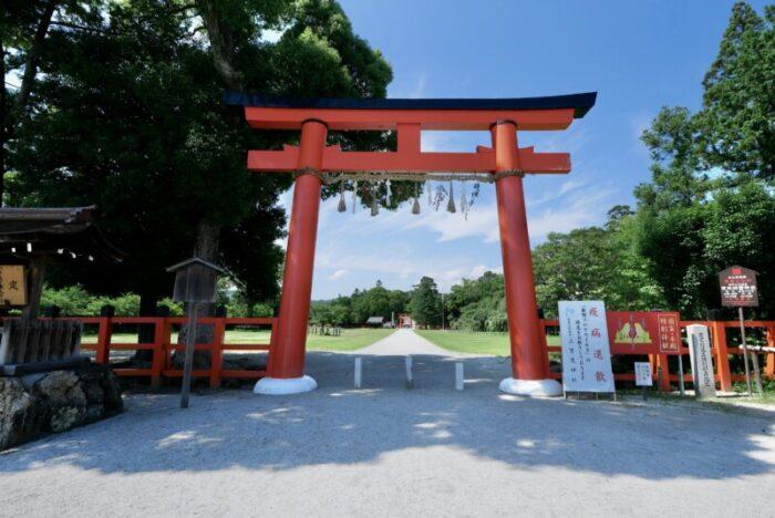 上賀茂神社の一の鳥居