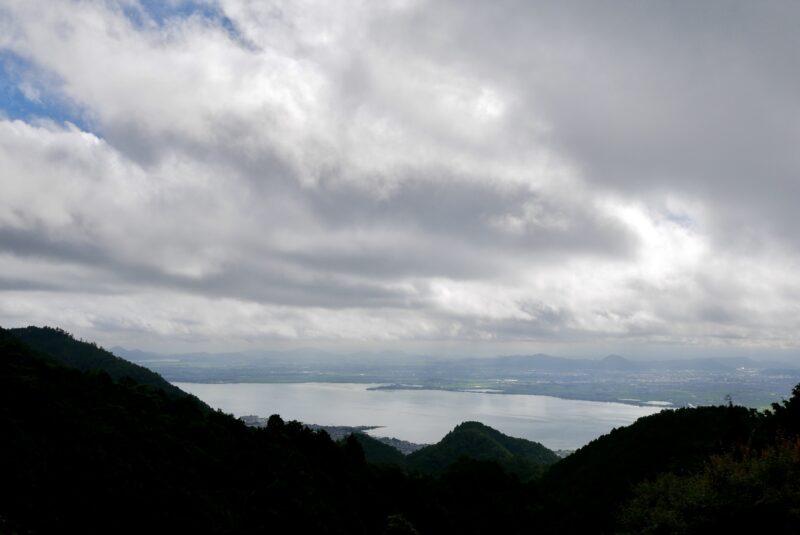 ロテルド比叡の山床テラスからの眺め