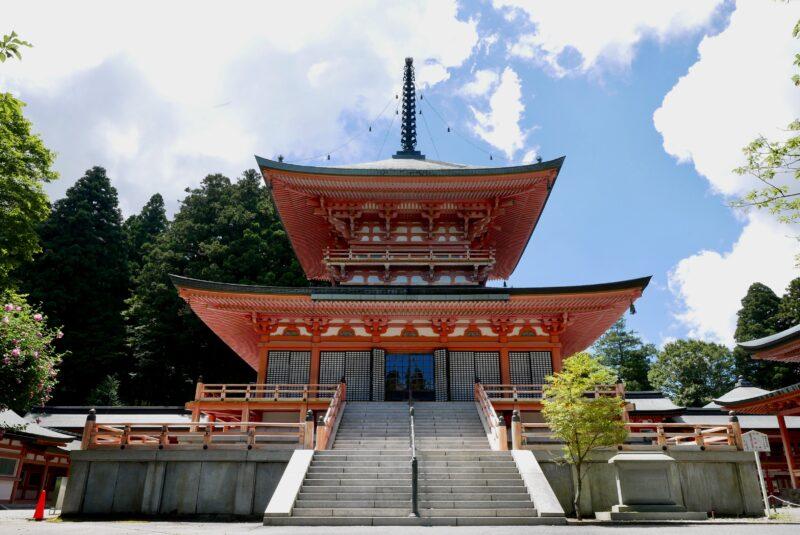 比叡山延暦寺の東塔