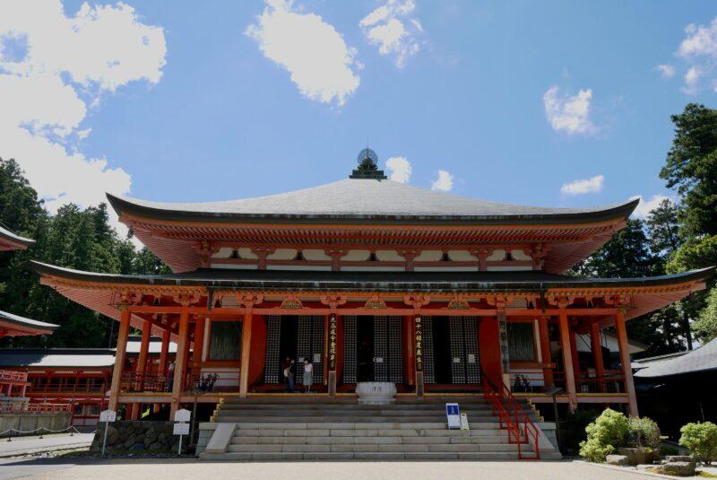比叡山延暦寺の阿弥陀堂