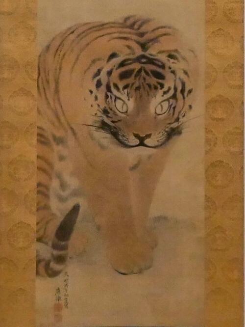 円山応挙「虎図」